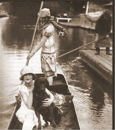 La mode des années folles  -  En bateau.