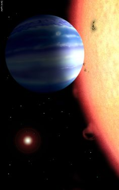 Water has been detected in the atmosphere of a planet outside our solar system with a new technique that could help researchers to learn how many planets with water, like Earth, exist throughout the universe. The team of scientists that made the discovery detected the water