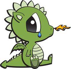 Baby Dragon by anamanae.deviantart.com on @deviantART