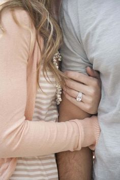 30 Lucky Brides Show Off Gorgeous Engagement Rings - MODwedding