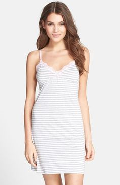 PJ+Salvage+Stripe+Jersey+Chemise+available+at+#Nordstrom
