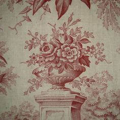 antique french toile