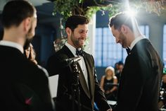 They met on a blind date that ultimately led to a sophisticated wedding celebration at the High Line Hotel in New York City!