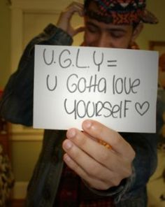 Turn around your UGLY self talk.