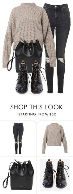 """Untitled #6117"" by laurenmboot ❤ liked on Polyvore featuring Topshop, Isabel Marant and Jeffrey Campbell"