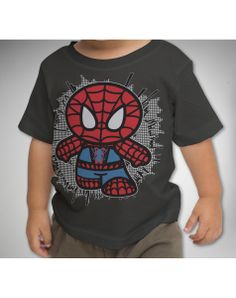Mini Spiderman Toddler Tee