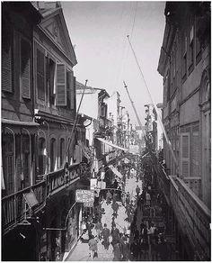 Rio de Janeiro - Rua do Ouvidor - 1890 by Meu Bairro Meu País, via Flickr