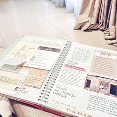 Mostly journalling thoughts on #smashbook lately. #scrapbook #projectlife #smash-book #smash_book