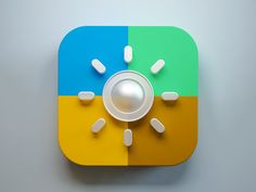 Weather icon by Webshocker