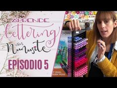 Aprende Lettering con Nunusite. Episodio 5. - YouTube