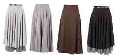 Double Layer Flayer Skirts at EastEssence