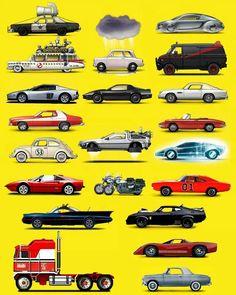 Auto (e non solo) film e telefilm degli anni 70 e 80