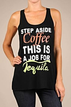 Tequila Graphic Tank - main