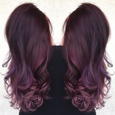 Antique amethyst @monicaprusa purple hair violet hair lilac hair