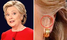 AFTER Hillary Clinton was declared winner of the first presidential debate, rumours have spread that she used an earpiece to cheat. But is the bizarre theory true?