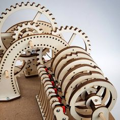 "78 Likes, 2 Comments - Rob Ives (@robivescom) on Instagram: ""Rotor timeline. Final tests. #lasercut #mechanism #automata #archiveproject #maker #gears"""