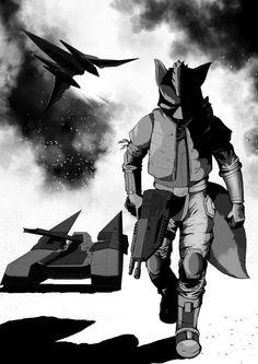 Fox enters the Battlefield by EffeDiMarte.deviantart.com on @deviantART