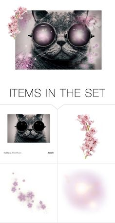 """Pinkk "" by thefadingsun ❤ liked on Polyvore featuring art"