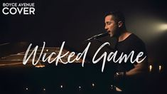 Boyce Avenue Cover, Chris Isaak, Spotify Apple, Wicked Game, Acoustic Covers, Music Videos, Blues, Neon Signs, Youtube