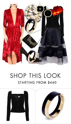 """""""If a girl looks swell when she meets you, who gives a damn if she's late? Nobody. (John. D. Salinger)"""" by m-kints ❤ liked on Polyvore featuring Casadei, Yves Saint Laurent, Marni, Asha by ADM and velvet"""