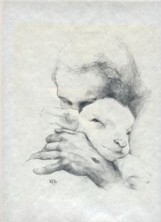 """He tends His flock like a shepherd; He gathers the lambs in His arms and carries them close to His heart; He gently leads those that have young."" Isaiah 40:11"