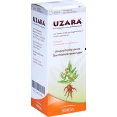 UZARA 40 mg-ml Lösung gegen Durchfallerkrankungen:   Packungsinhalt: 30 ml Lösung PZN: 06118085 Hersteller: STADAvita GmbH Preis: 4,87…
