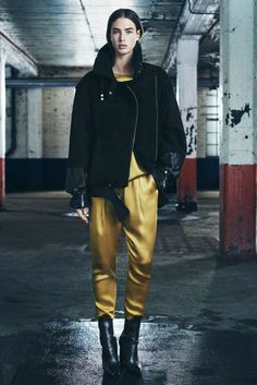 FALL 2014 RTW ALLSAINTS COLLECTION gold pants