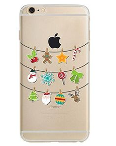 iPhone 7 Plus Case(5.5inch),Blingy's Holiday Style Transp...