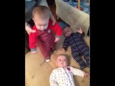 Cutest Harlem Shake I've ever seen