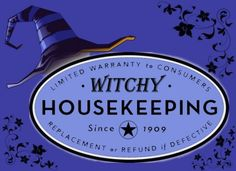 Brilliant tips and tricks for the home: good witch style. Clever superstitions that are also handy.