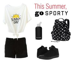 """""""Sporty Summer"""" by zpdumasia on Polyvore featuring RtA, bkr, Converse, contestentry and ContestOnTheGo"""