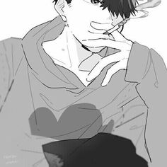 monochrome, art, and osomatsu-san