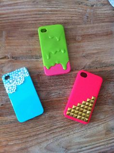 Phonecases   I have the blue one but it's black instead :)