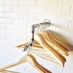 Hey, I found this really awesome Etsy listing at https://www.etsy.com/listing/263284658/industrial-pipe-clothing-rack-with