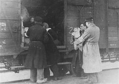 Deportation from the Westerbork transit camp. The Netherlands, 1943–1944.