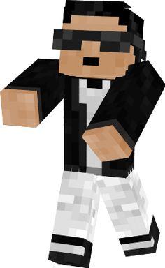 Psy Minecraft Skin!