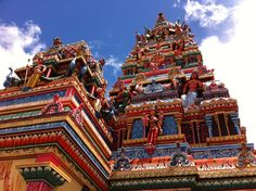 Temple in Port Louis, the Capital city.