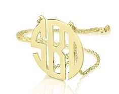 Monogram Necklace 18k Gold Plated Personalized Initial 125 Block Monogram 16 Inches >>> You can get additional details at the image link.(This is an Amazon affiliate link and I receive a commission for the sales)
