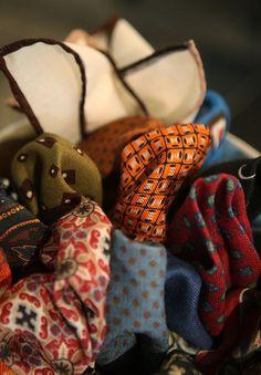 "bowtieculture: "" Pocket Squares """