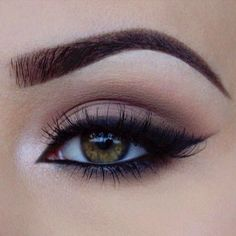 matte neutral eye with inner shimmer ~ we ❤ this! moncheriprom.com