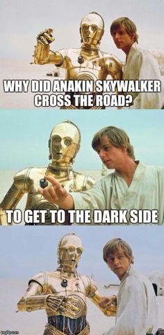 Image result for horrible star wars puns