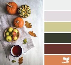 {autumn hues} - https://www.design-seeds.com/seasons/autumn/autumn-hues9