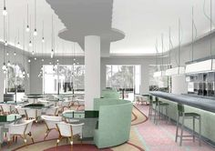 Restaurant at Como Hotel(by Paola Navone)