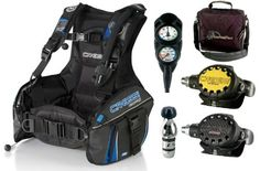 Cressi Scuba Diving Gear Equipment's Package Set - http://scuba.megainfohouse.com/cressi-scuba-diving-gear-equipments-package-set-bc-regulator-octopus-2-gauge-console-with-bag.html/