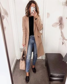 90 Sophisticated Work Attire and Office Outfits for Women to Look Stylish and Chic - Lifestyle State Casual Work Outfits, Winter Outfits For Work, Mode Outfits, Office Outfits, Work Casual, Work Attire, Office Wear, Casual Office, Winter Clothes
