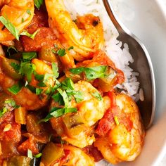Make delicious Louisiana style Shrimp Creole in just 30 minutes with this easy recipe! A simple combination of buttery shrimp, zingy tomato based sauce that will have you feeling like you're in New Orleans! It's the best way to enjoy this healthy dish! Prawn Recipes, Shrimp Recipes For Dinner, Cajun Recipes, Seafood Recipes, Cooking Recipes, Haitian Recipes, Cajun Seafood Recipe, Donut Recipes, Shrimp Creole Recipes
