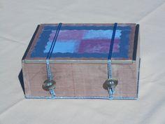 Upcycled Decorative Box, Trinket Box, Recycled Cigar Box, Jewelry Box, Decorative Storage Box, Gift Box by KimsCountryCorner on Etsy