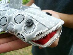 Shark Pencil Case Tutorial