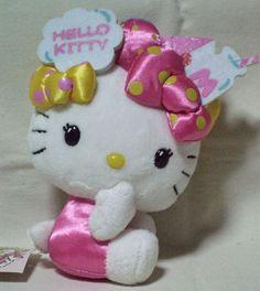 Hello Kitty Mori Girl Ribbon Lot Costume Plush Doll Kawaii Sanrio 2010 RARE NWT | eBay