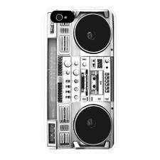 Retro, Boombox iPhone 5 Case
